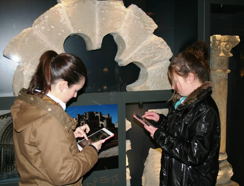 Museu de les Terres de l´Ebre :  : El Visitmuseum, nova eina de treball per als alumnes de l'EOI d'Amposta