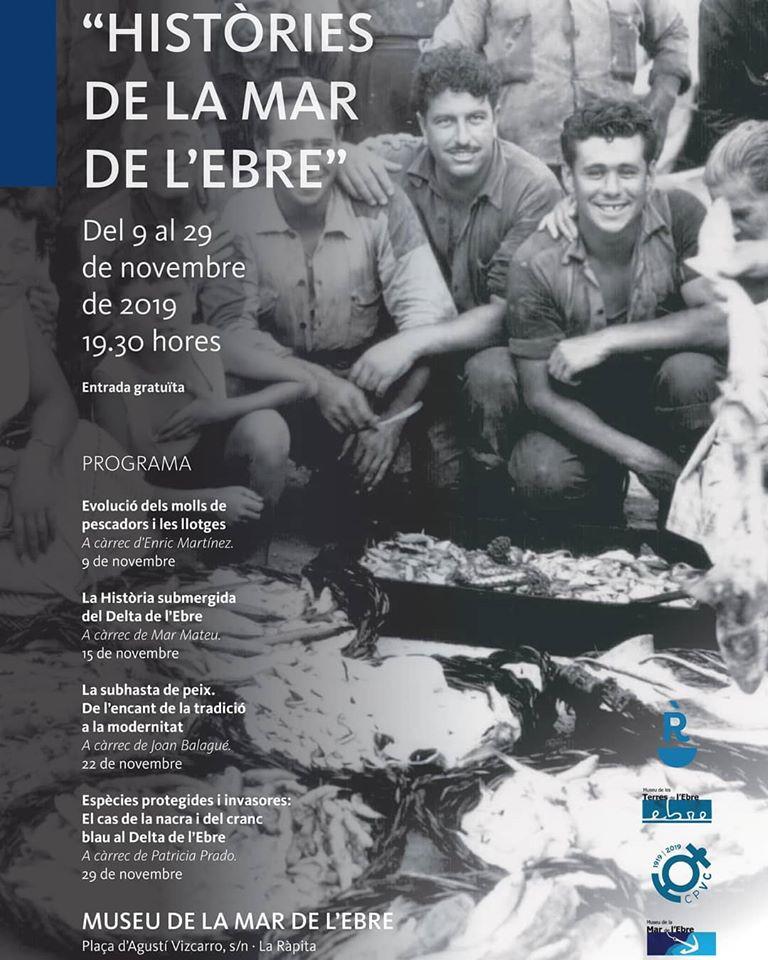 Museu de les Terres de l´Ebre : agenda : Històries de la Mar de l'Ebre