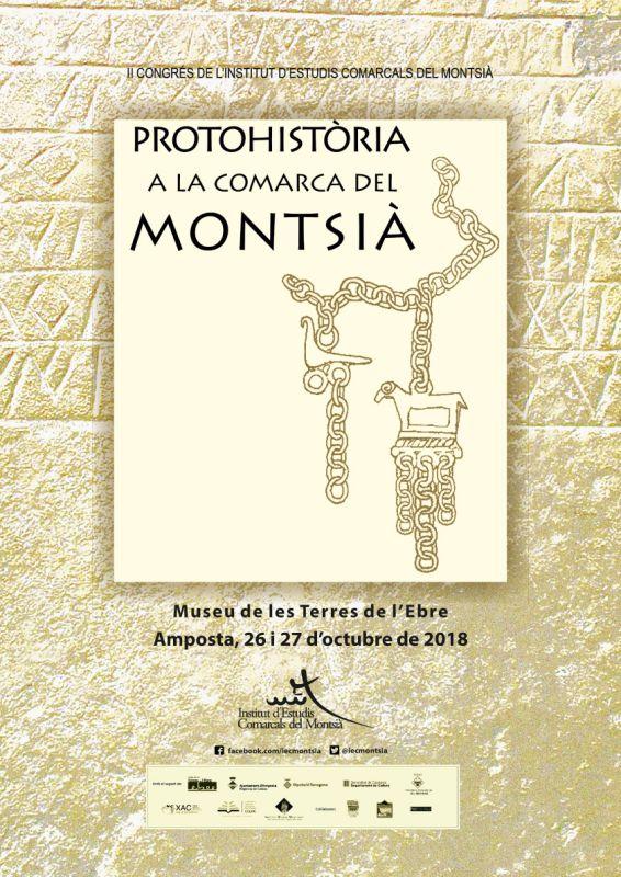 Museu de les Terres de l´Ebre : agenda : Protohistòria a la comarca del Montsià. II Congrés de l'Institut d'Estudis Comarcals del Montsià