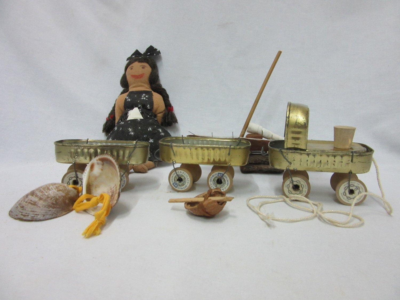 """Museu de les Terres de l´Ebre : agenda : Exposició - taller didàctic """"Els joguets dels iaios"""""""