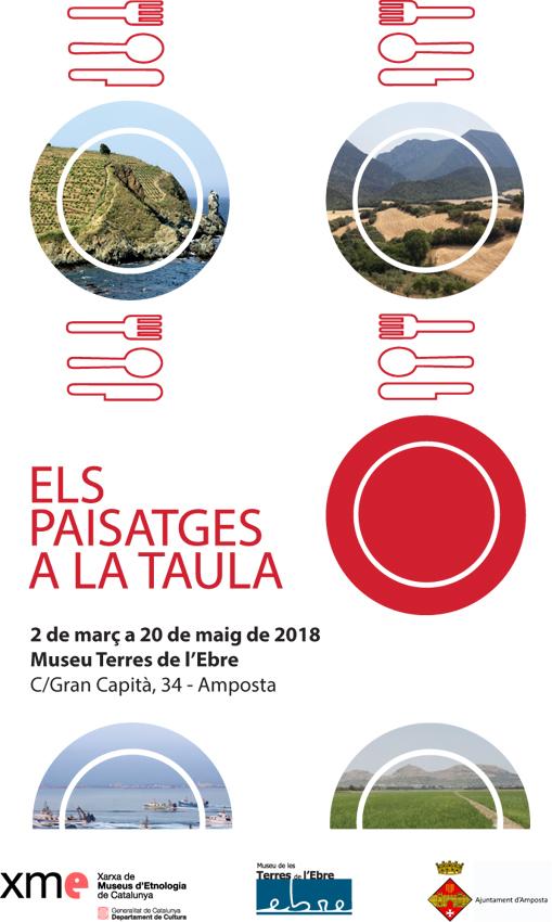 Museu de les Terres de l´Ebre : agenda : Exposició 'Els paisatges a la taula'