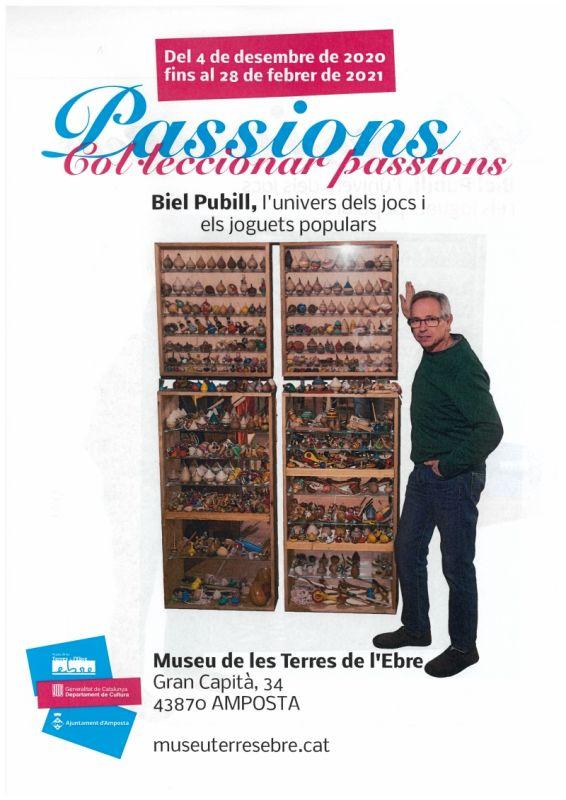 """Museu de les Terres de l´Ebre : agenda : Exposició """"Col·leccionar passions: Biel Pubill i l'univers dels jocs i els joguets populars"""""""