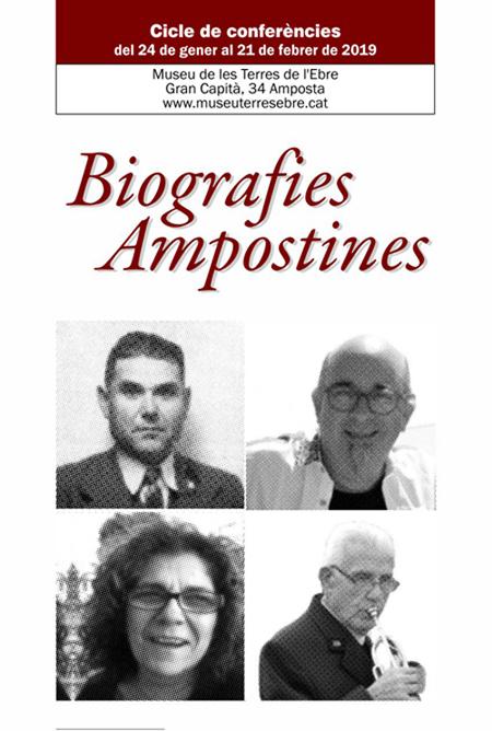 Museu de les Terres de l´Ebre : agenda : Biografies Ampostines