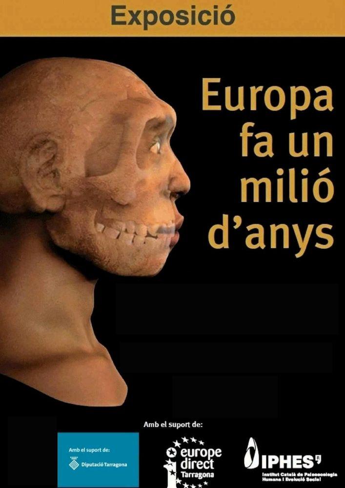 """Museu de les Terres de l´Ebre : agenda : Exposició """"Europa, fa un milió d'anys"""""""