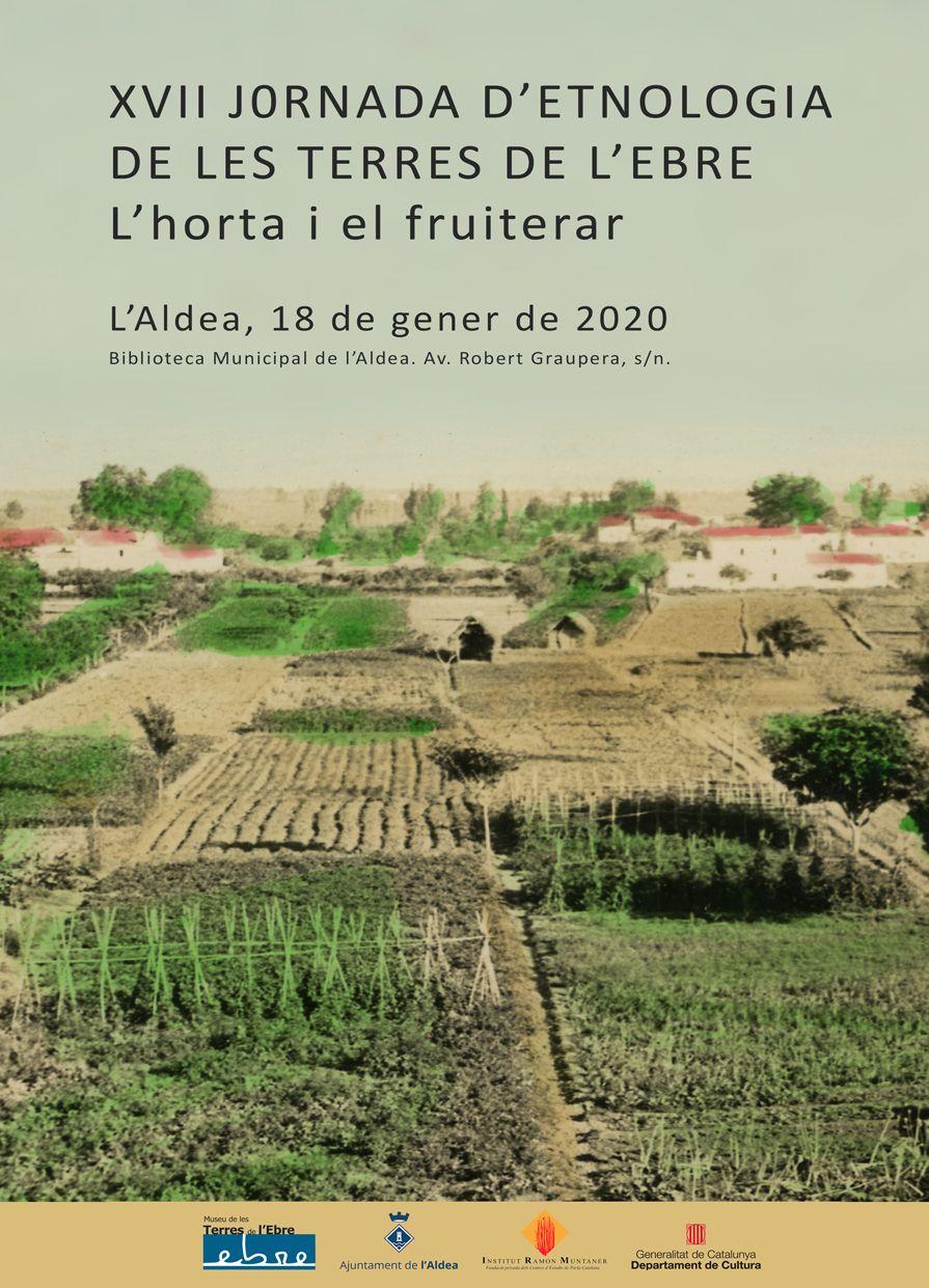 Museu de les Terres de l´Ebre : agenda : XVII Jornada d'Etnologia de les Terres de l'Ebre. L'horta i el fruiterar.