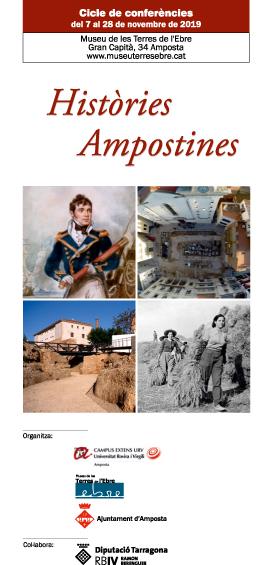 Museu de les Terres de l´Ebre : agenda : Histories Ampostines