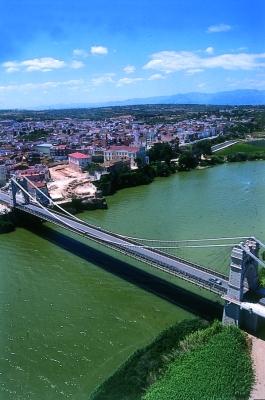 Museu de les Terres de l´Ebre : Serveis educatius : Amposta, pont vora l'Ebre i la Mediterrània
