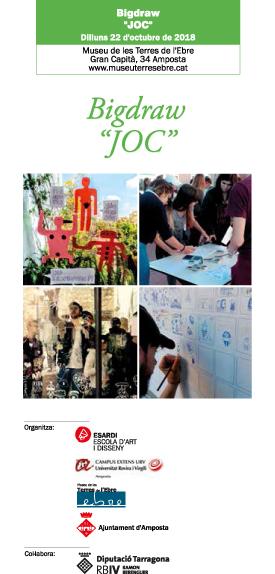 """Museu de les Terres de l´Ebre : agenda : Bigdraw """"JOC"""""""