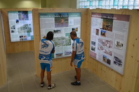 Museu de les Terres de l´Ebre :  : Inauguració del Centre d'interpretació Viure al Poble