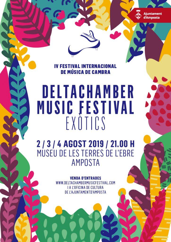 Museu de les Terres de l´Ebre : agenda : IV Edició del DeltaChamber Music Festival