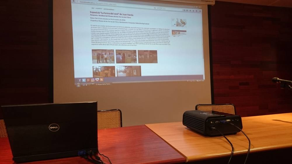 Presentació del portal d'activitats del Museu de les Terres de l'Ebre (1984-2016)
