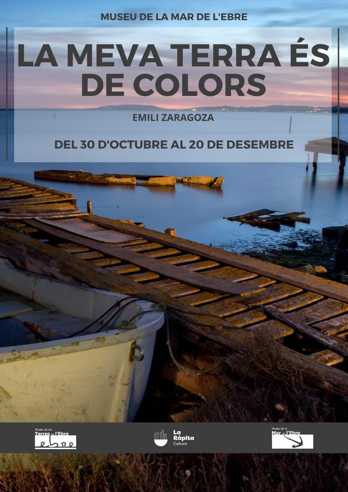 """Museu de les Terres de l´Ebre : agenda : Exposició """"La meua terra és de colors"""" d'Emilio Zaragoza"""