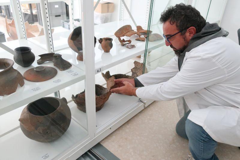 Documentació dels materials arqueològics dels Malladarets (Alfara de Carles)
