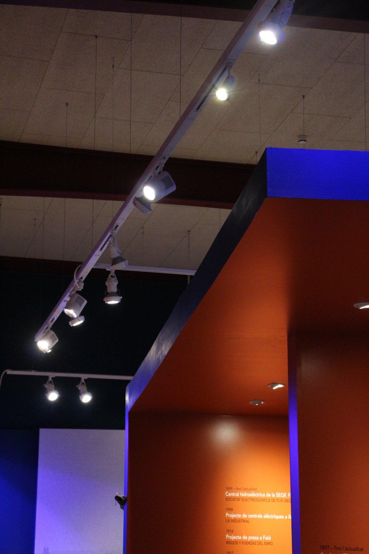 El Museu instal·la leds en totes les sales d'exposició