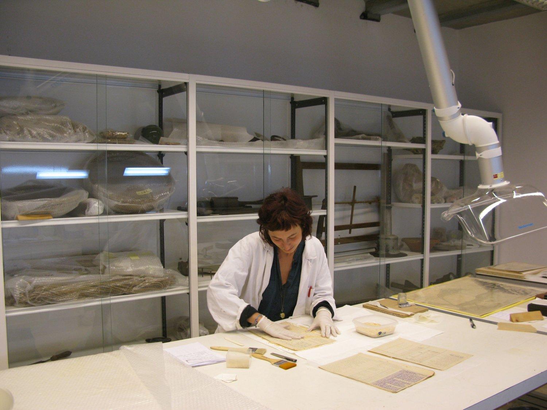 S'acaba la restauració dels objectes per al Museu de la Mar de l'Ebre (Sant Carles de la Ràpita)
