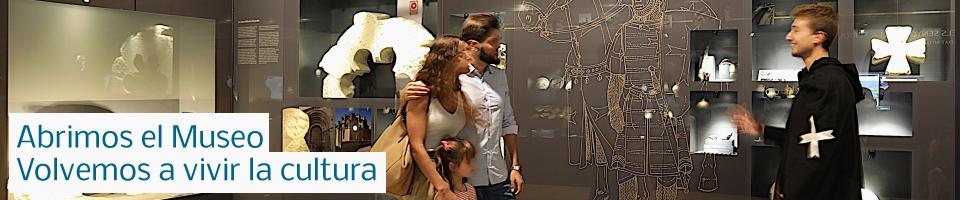 Abrimos el Museo. Volvemos a vivir la cultura