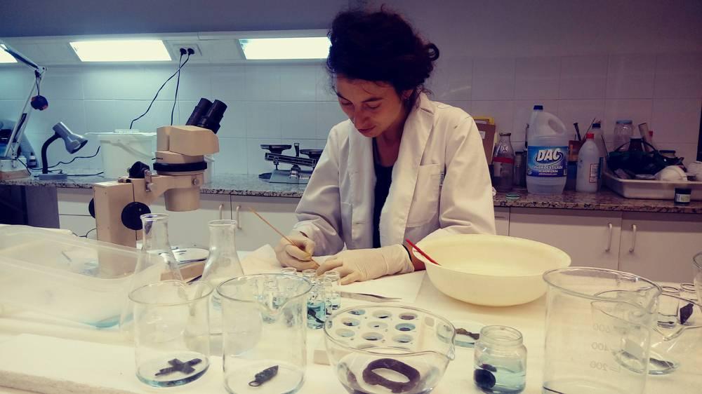 Campanya de restauració de materials arqueològics de l'exposició permanent del museu