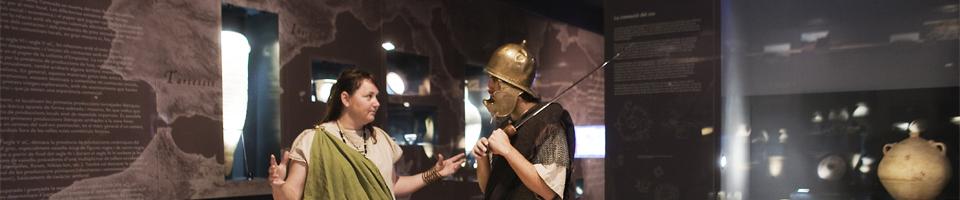 Sala d´exposicions: Les Terres de l'Ebre (prehistòria - edat mitjana)