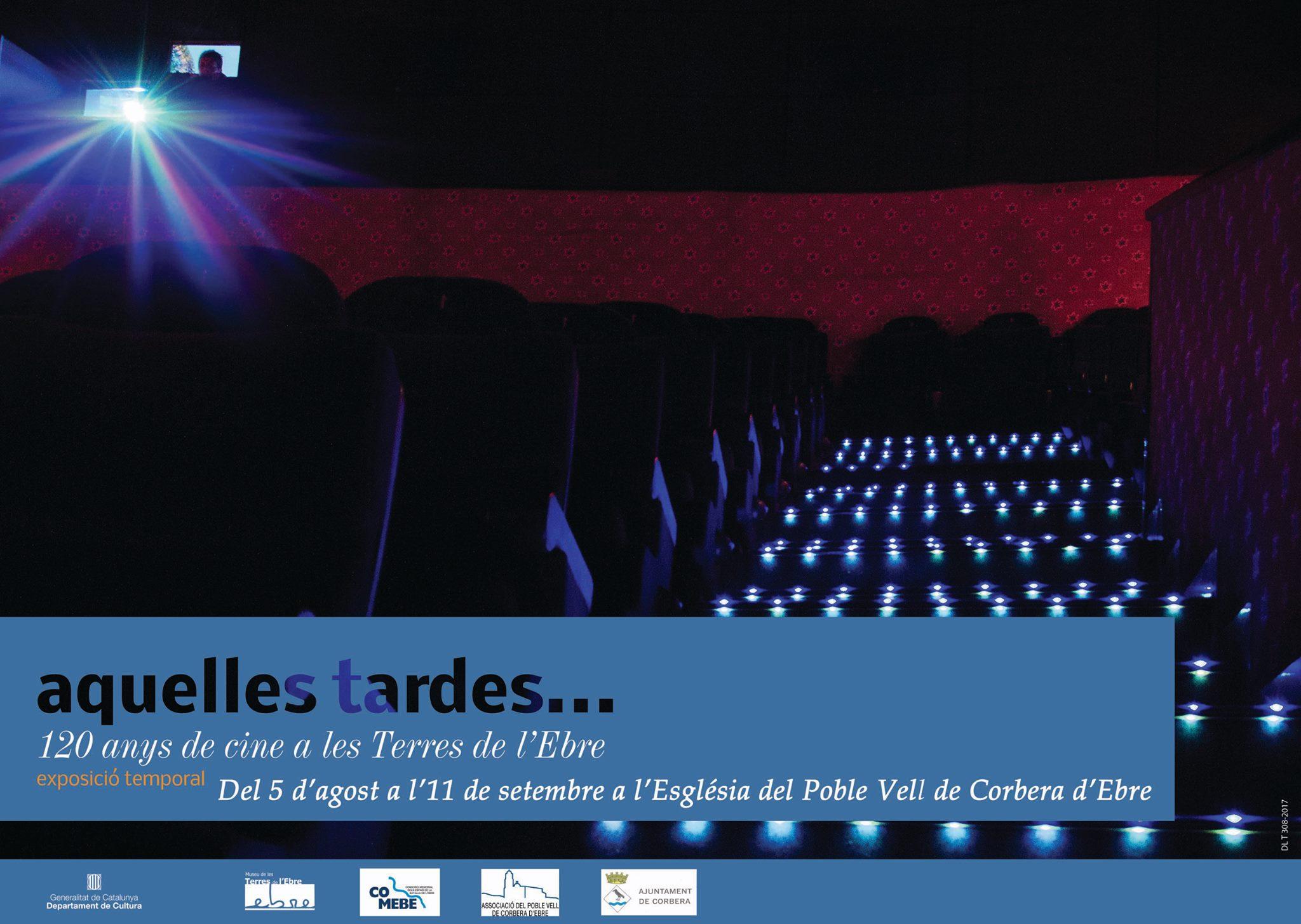 """Museu de les Terres de l´Ebre : agenda : Exposició """"Aquelles tardes... 120 anys de cine a les Terres de l'Ebre"""""""
