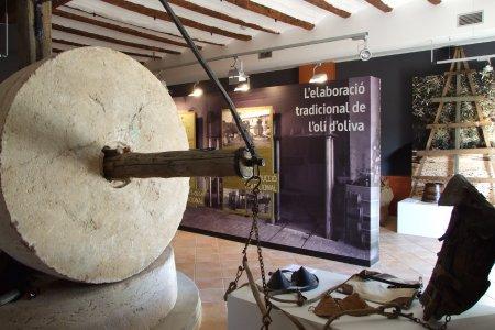 Museu de les Terres de l´Ebre : Serveis turístics : Centre d'Interpretació de la vida a La Plana, la transformació del paisatge