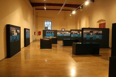 """Museu de les Terres de l´Ebre : SAM : Exposición """"Creuar l'Ebre. Dels passos de barca als ponts penjants del Delta"""""""