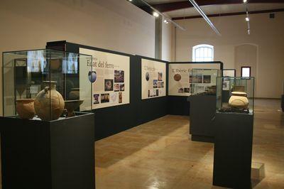 """Museu de les Terres de l´Ebre : SAM : Exposición """"Les Terres de l'Ebre: de la neolitització a la romanització"""""""