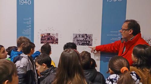 """Museu de les Terres de l´Ebre :  : Participació de les escoles en l'exposició """"100 anys d'escola pública a Amposta"""""""