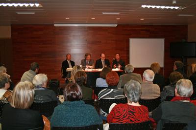 Museu de les Terres de l´Ebre :  : Inauguració del curs i de la nova seu de l'Antena del Coneixement de la URV a  Amposta