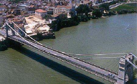 Museu de les Terres de l´Ebre : Serveis turístics : Amposta, pont vora l'Ebre i la Mediterrània