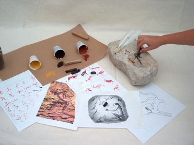 Museu de les Terres de l´Ebre : Servicios educativos y turísticos : LAS PINTURAS RUPESTRES, crónica y arte