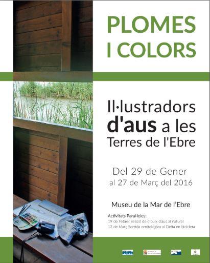 """Museu de les Terres de l´Ebre : agenda : Exposició: """"Plomes i colors. Il·lustradors d'aus a les Terres de l'Ebre"""""""