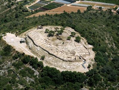 Museu de les Terres de l´Ebre : EBRE, NATURA & CULTURA : Parc Arqueològic de la Cultura dels Ibers, Poblat de la Moleta del Remei