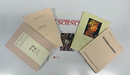 Les publicacions de l'IEC a la biblioteca del Museu de les Terres de l'Ebre