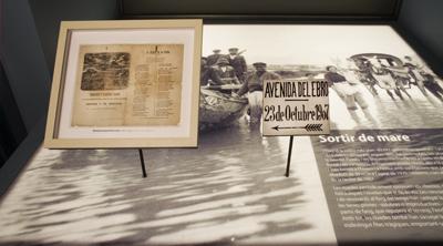 Museu de les Terres de l´Ebre : Sales d´exposició : L'Ebre, camí d'aigua