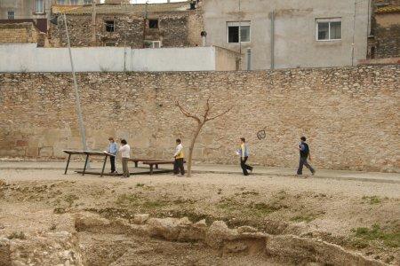 Museu de les Terres de l´Ebre : Serveis educatius : Descobreix el Castell d'Amposta, amb un joc de pistes