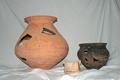 Museu de les Terres de l´Ebre :  : Dipòsit de materials arqueològics procedents del Grup d'Estudi i Recerca del Patrimoni de Vilalba