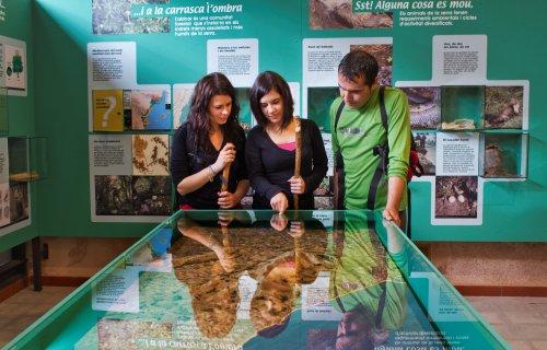 Museu de les Terres de l´Ebre : Serveis educatius : Centre d'Interpretació de la Serra del Montsià: natura, home i paisatge