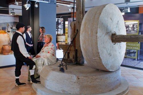 Museu de les Terres de l´Ebre : Serveis educatius : Centre d'Interpretació de la vida a La Plana, la transformació del paisatge